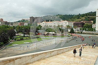Guggenheim Surroundings - Bilbao Editorial Stock Image