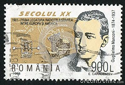 Guglielmo Marconi Editorial Stock Image