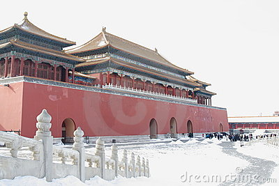 GuGong (Forbidden City, Zijincheng) Editorial Stock Photo