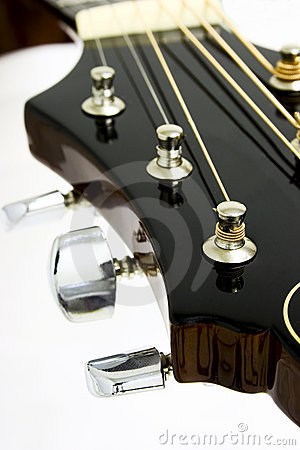 Free Guiar Headstock - Music Instrument Stock Photos - 29293
