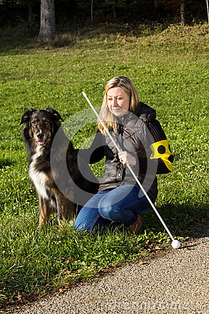 Free Guide Dog Royalty Free Stock Photos - 49187068