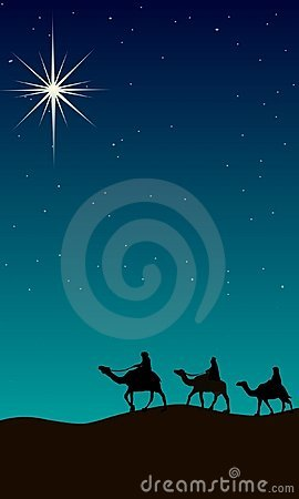 Guiding light of Christmas