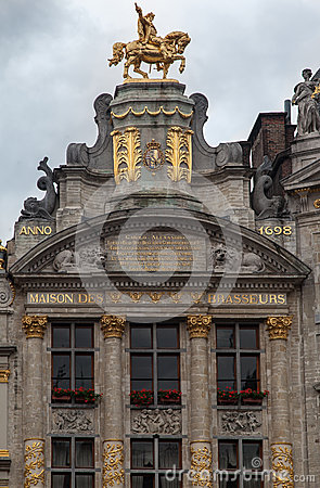 Guild House in Grand Place Brussels