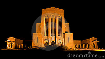 Guildford Cathedral at Night