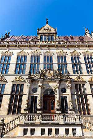 Guildhall in Bremen, Germany
