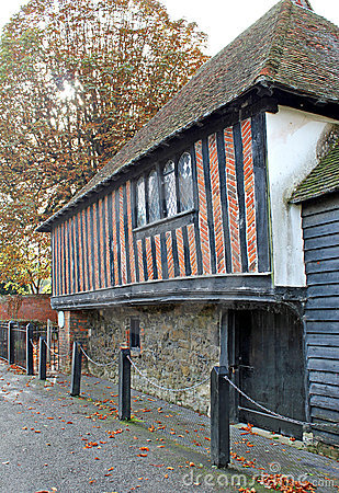 The guildhall in fordwich kent