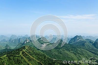 Guilin hills