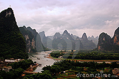 Guilin landscapes