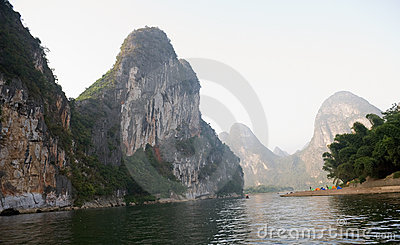 Guilin mountains in China