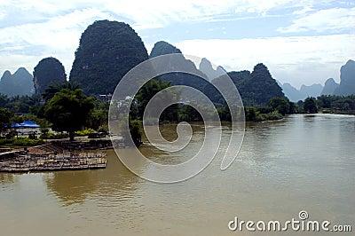 Guilin, Yangshuo landscape