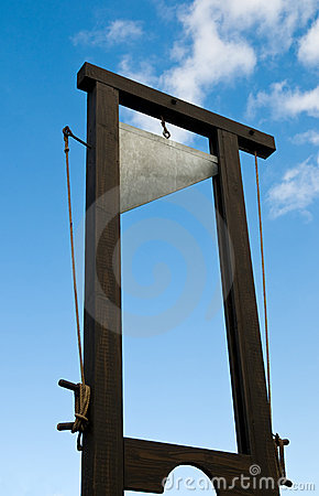 Free Guillotine Royalty Free Stock Photos - 11370448