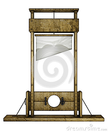 Guillotine (front view)