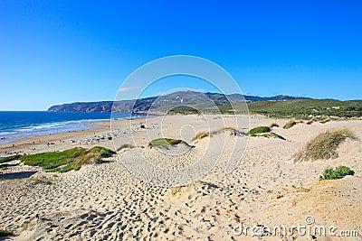 Guincho kite surf beach. Cascais, Portugal