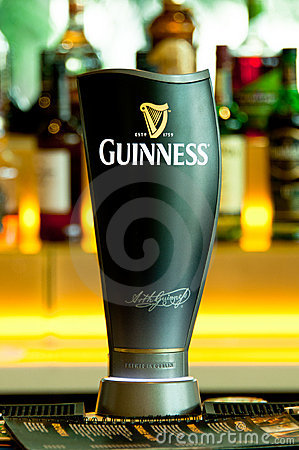 Guinness Beer Tap Editorial Photo