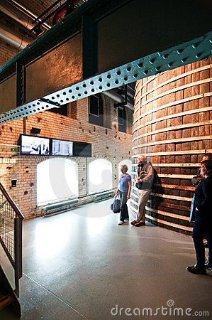 Guinness Storehouse in Dublin Editorial Photo