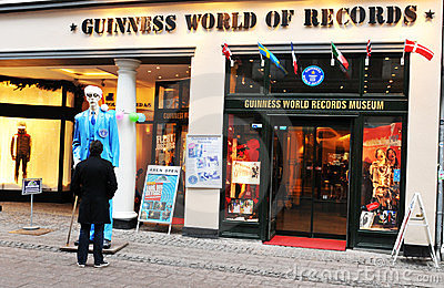 Guinness World of Records Editorial Stock Image