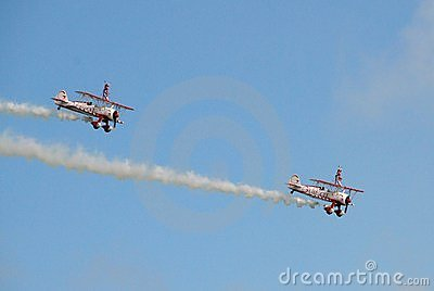 Guinot Wing Walking team Editorial Image