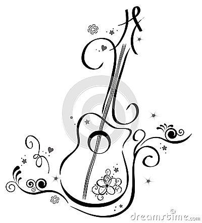 Free Guitar Royalty Free Stock Image - 14359806