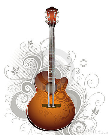 Free Guitar Royalty Free Stock Photos - 3321488