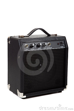 Free Guitar Amp Royalty Free Stock Photo - 10751235