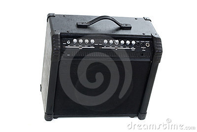 Guitar amp background