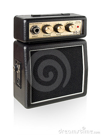 Free Guitar Amplifier. Stock Photo - 17368030