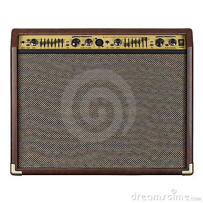 Guitar amplifier acoustic