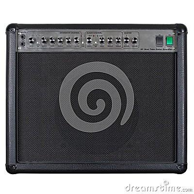 Free Guitar Amplifier Black Royalty Free Stock Photos - 13359928