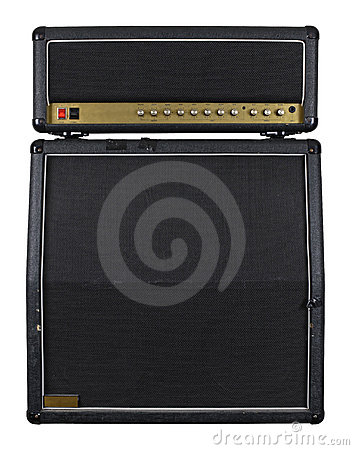 Free Guitar Amplifier Combo Royalty Free Stock Images - 13340339