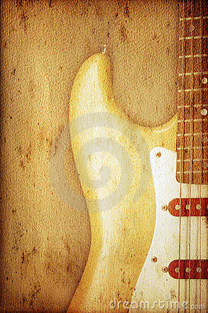 Guitar Background Royalty Free Stock Photos - Image: 7425588