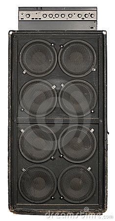 Guitar or bass amplifier