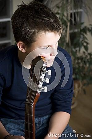 Guitar boy