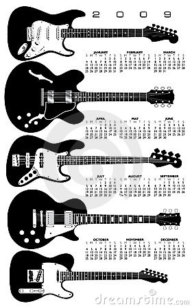 Guitar Calendar