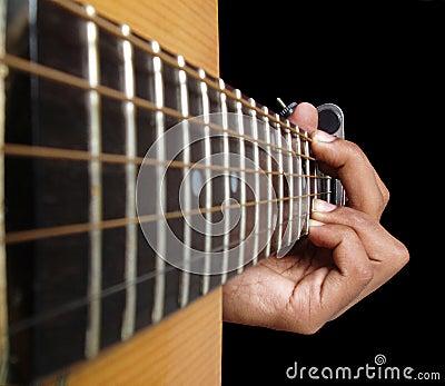 A guitar Chord