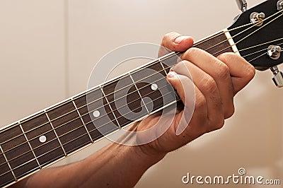 Guitar chord E