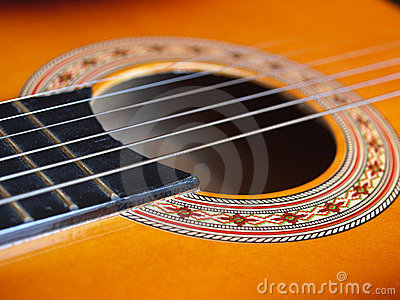 Guitar close-up
