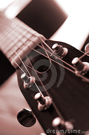 Free Guitar Close Up Stock Image - 4259261