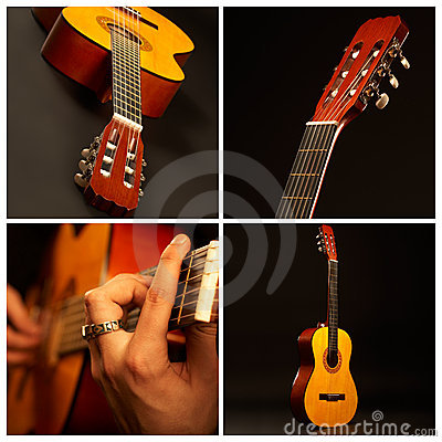 Free Guitar Comp Royalty Free Stock Photo - 3142315