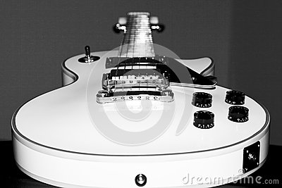 Guitar - Electric Stock Photo
