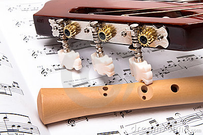 Guitar and flute