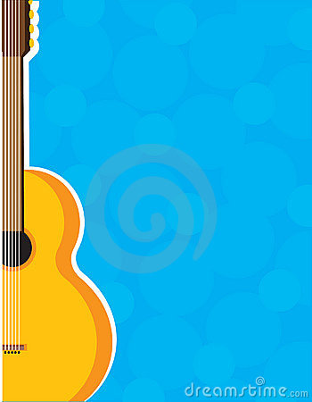 guitar frame stock vector image 55260012