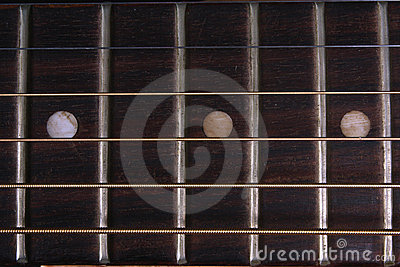 Guitar Fretboard Background