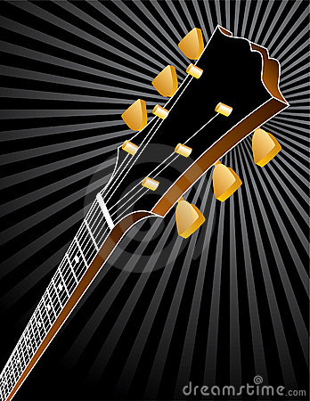 Guitar Headstock Background