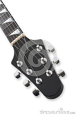 Guitar Headstock  Close-up