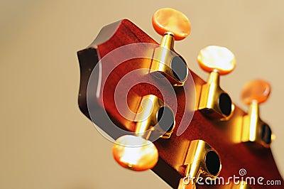 Guitar keys detail
