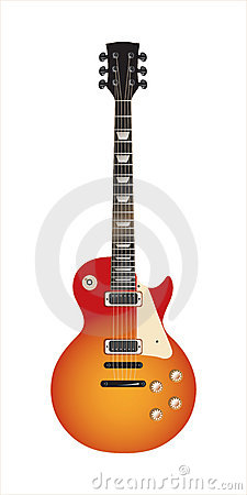 Guitar Les Paul - vector