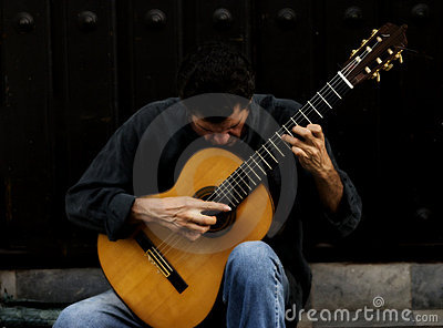 The guitar Man