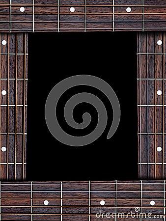 Guitar music frame