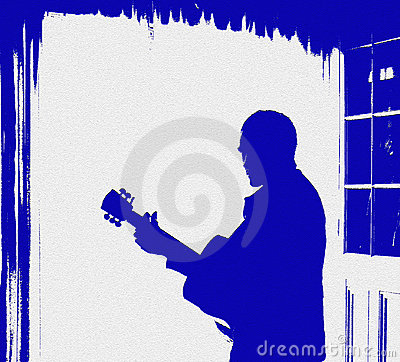 Free Guitar Music Poster Flyer Royalty Free Stock Images - 17838789