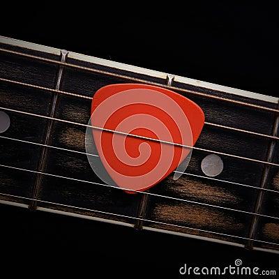 Free Guitar Pick Stock Image - 29678761